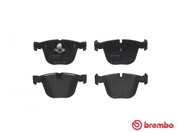 【ブレンボ】ブレーキパッド BMW E71 X6 [ GZ44 ][ 10/05~ ][ REAR ] 【 ブラック | 【注2】《グレード》X6 M 4.4 TURBO 】