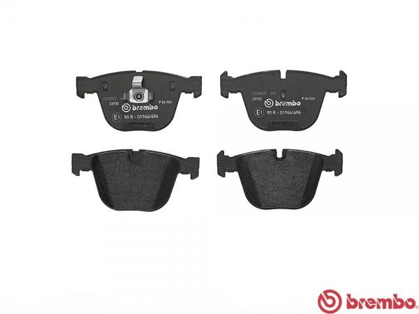 【ブレンボ】ブレーキパッド BMW E82[ 11~14/02 ][ REAR ] 【 ブラック | 【注2】《グレード》M COUPE 】