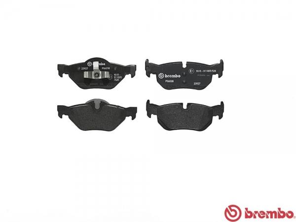 【ブレンボ】ブレーキパッド BMW E82 [ UC20 ][ 10/05~14/02 ][ REAR ] 【 ブラック | 【注2】《グレード》120i 】