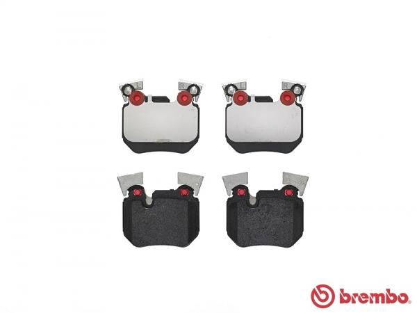 【ブレンボ】ブレーキパッド BMW E82 [ UC35 ][ 08/02~10/04 ][ REAR ] 【 レッド | 【注2】《グレード》135i 】