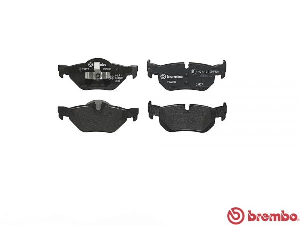 【ブレンボ】ブレーキパッド BMW E84 X1 [ VL18 VL20 ][ 10/04~15/10 ][ REAR ] 【 セラミック   【注2】《グレード》sDrive 18i/20i 】