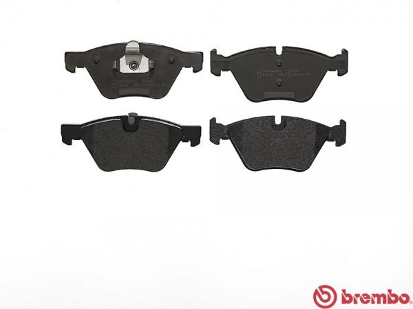 【ブレンボ】ブレーキパッド BMW E60 (SEDAN) [ NA25 ][ 03/08~05/05 ][ FRONT ] 【 ブラック | 【注2】《グレード》525i 】