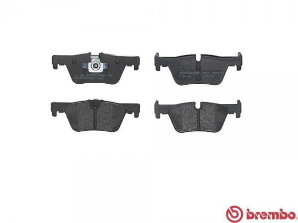 【ブレンボ】ブレーキパッド BMW F20 [ 1A16 ][ 12/03~ ][ REAR ] 【 ブラック | M SPORTS含む《グレード》120i 】