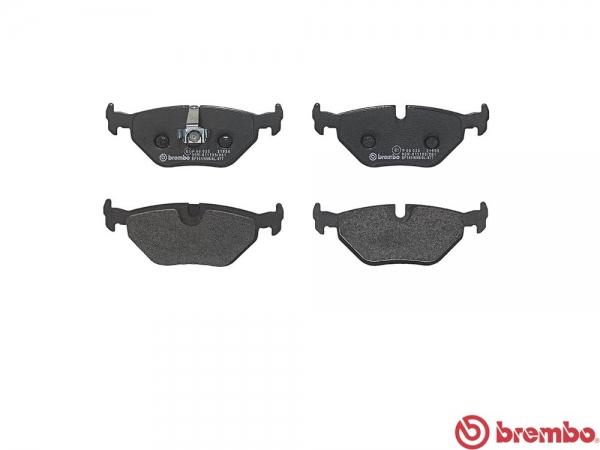 【ブレンボ】ブレーキパッド BMW E85/E86 Z4 [ BU30 DU30 ][ 06/04~ ][ REAR ] 【 セラミック | 《グレード》3.0 si / si COUPE 】