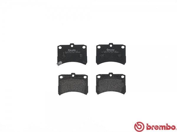 【ブレンボ】ブレーキパッド SUBARU ディアス ワゴン [ S321N S331N ][ 09/09~ ][ FRONT ] 【 レッド 】