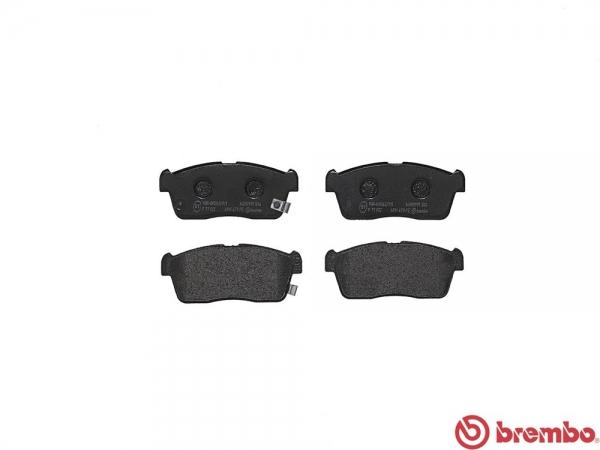 【ブレンボ】ブレーキパッド SUBARU デックス [ M411F ][ 08/10~ ][ FRONT ] 【 ブラック 】