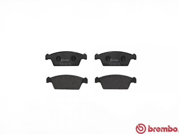 【ブレンボ】ブレーキパッド MAZDA キャロル [ AA6PA ][ 90/2~92/7 ][ FRONT ] 【 ブラック | ABS無(TURBO) 】