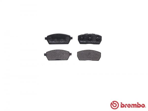 【ブレンボ】ブレーキパッド MAZDA スクラム [ DG51B DG51T DH51T ][ 90/2~91/8 ][ FRONT ] 【 ブラック | Front DISC 】