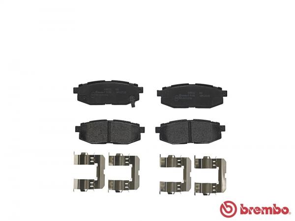 【ブレンボ】ブレーキパッド SUBARU レガシィ セダン (B4) [ BM9 ][ 10/05~12/04 ][ REAR ] 【 レッド | 2.5i S Package B~C型 (EyeSight含む) 】