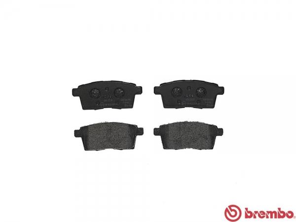 【ブレンボ】ブレーキパッド MAZDA CX-7 [ ER3P ][ 06/12~ ][ REAR ] 【 セラミック | FF&4WD 】