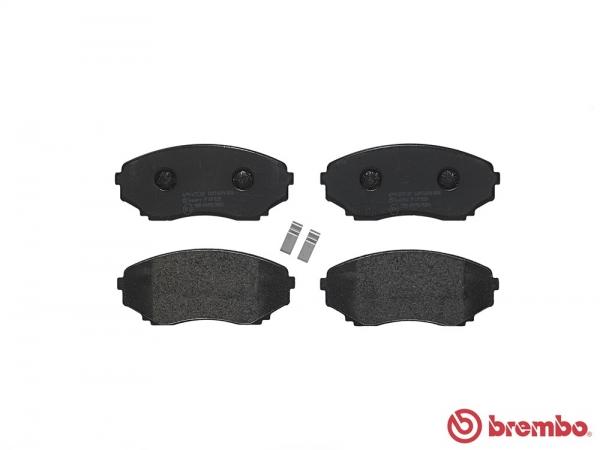 【ブレンボ】ブレーキパッド MAZDA MPV [ LVEW ][ 95/10~99/5 ][ FRONT ] 【 ブラック | ALL 】
