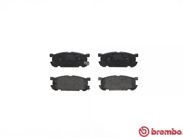 【ブレンボ】ブレーキパッド MAZDA ロードスター/ユーノス ロードスター [ NB6C ][ 00/06~05/06 ][ REAR ] 【 セラミック | NR-A 】