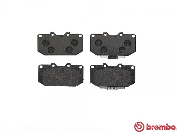 【ブレンボ】ブレーキパッド MITSUBISHI GTO [ Z16A ][ 92/10~00/08 ][ FRONT ] 【 ブラック 】