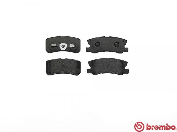 【ブレンボ】ブレーキパッド MITSUBISHI デリカ D:5 [ CV4W ][ 10/01~11/12 ][ REAR ] 【 ブラック 】