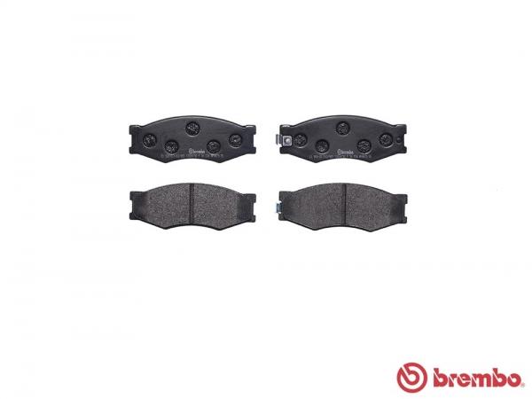 【ブレンボ】ブレーキパッド NISSAN ダットサン [ D21系 ][ 85/8~97/1 ][ FRONT ] 【 レッド | Engine [TD27T]除く 】