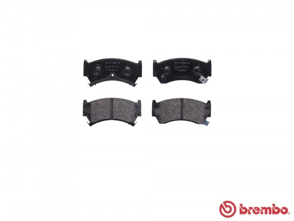 【ブレンボ】ブレーキパッド NISSAN キューブ [ AZ10 ][ 99/11~00/09 ][ FRONT ] 【 ブラック 】