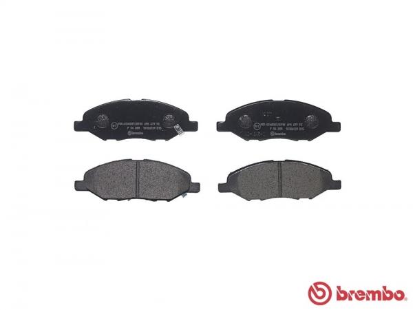 【ブレンボ】ブレーキパッド NISSAN キューブ [ BNZ11 ][ 02/10~05/05 ][ FRONT ] 【 ブラック 】