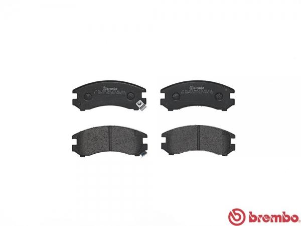 【ブレンボ】ブレーキパッド NISSAN シルビア [ S13 KS13 ][ 88/5~91/1 ][ FRONT ] 【 レッド | NA&TURBO 】
