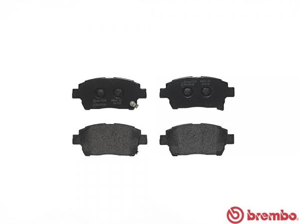 【ブレンボ】ブレーキパッド TOYOTA ヴィッツ [ NCP13 ][ 99/1~05/01 ][ FRONT ] 【 ブラック   1.5 RS 】