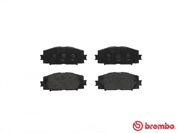 【ブレンボ】ブレーキパッド TOYOTA ヴィッツ [ KSP130 NSP130 ][ 13/06~14/03 ][ FRONT ] 【 ブラック 】