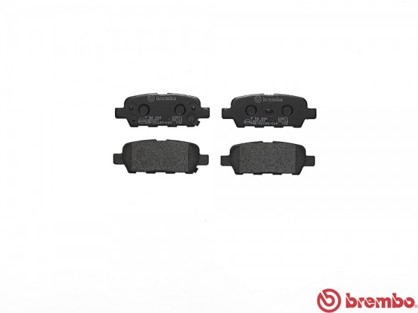 【ブレンボ】ブレーキパッド NISSAN スカイライン [ CPV35 ][ 04/11~07/10 ][ REAR ] 【 ブラック 】