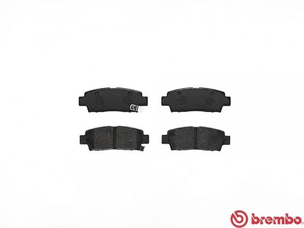 【ブレンボ】ブレーキパッド TOYOTA マークII / クレスタ / チェイサー [ GX90 SX90 LX90 ][ 92/10~96/9 ][ REAR ] 【 ブラック 】
