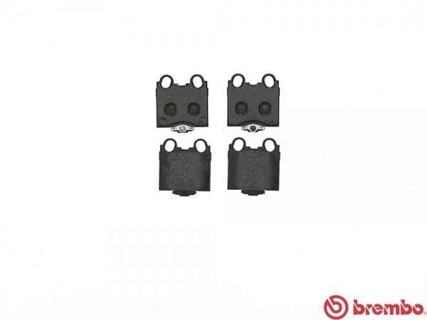 【ブレンボ】ブレーキパッド TOYOTA マークII / クレスタ / チェイサー [ JZX110 ][ 00/10~04/11 ][ REAR ] 【 レッド | TURBO 】