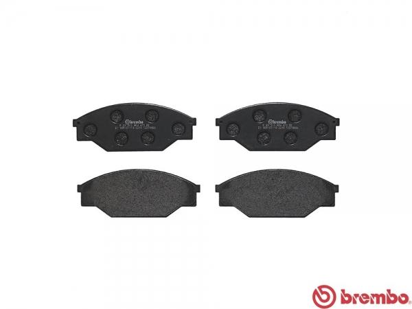 【ブレンボ】ブレーキパッド TOYOTA ハイラックス [ LN50 LN51 LN55 LN56 YN51 YN56 ][ 83/11~89/3 ][ FRONT ] 【 ブラック 】