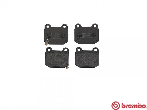 【ブレンボ】ブレーキパッド TOYOTA ハチロク [ ZN6 ][ 12/04~ ][ REAR ] 【 セラミック   GT Limited High Performance Package キャリパーBrembo製 】