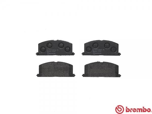 【ブレンボ】ブレーキパッド TOYOTA サイノス [ EL44 ][ 91/1~95/8 ][ FRONT ] 【 ブラック | Rear DISC 】