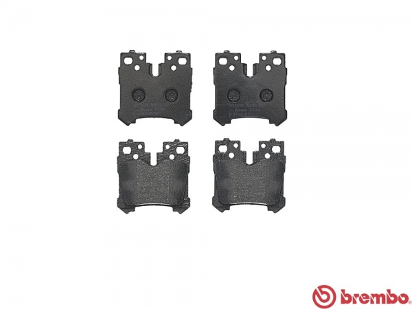 【ブレンボ】ブレーキパッド LEXUS LS460 [ USF41 USF45 USF46 ][ 06/08~ ][ REAR ] 【 ブラック 】