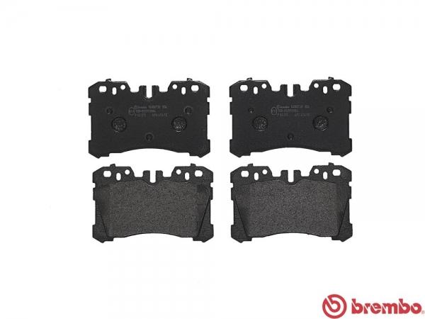【ブレンボ】ブレーキパッド LEXUS LS600h/hL [ UVF45 ][ 07/04~ ][ FRONT ] 【 ブラック 】
