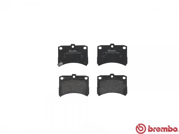 【ブレンボ】ブレーキパッド DAIHATSU アトレー [ S320G S330G ][ 04/11~07/12 ][ FRONT ] 【 レッド 】