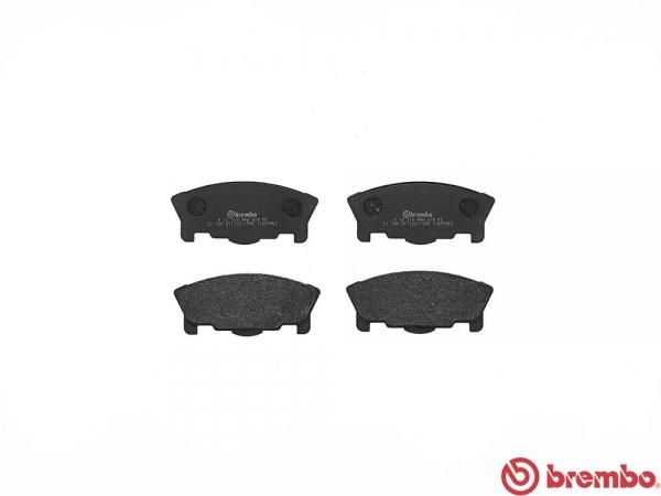 【ブレンボ】ブレーキパッド DAIHATSU ミラ [ L200S ][ 91/5~95/1 ][ FRONT ] 【 ブラック | TR-XX AVANZATO R HOUSEI 】