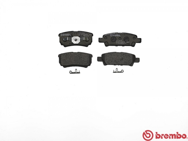 【ブレンボ】ブレーキパッド MITSUBISHI ランサーセディア ワゴン / ランサー ワゴン [ CS5W ][ 01/12~03/01 ][ REAR ] 【 ブラック | Touring Sports Edition 】