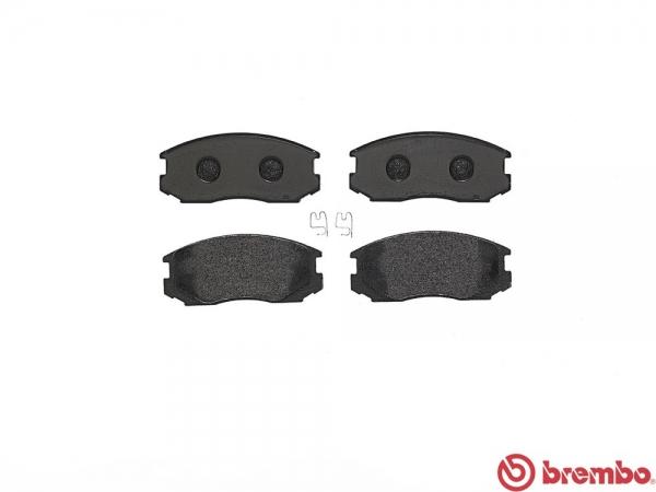 【ブレンボ】ブレーキパッド MITSUBISHI ランサーセディア ワゴン / ランサー ワゴン [ C34W C37W ][ 89/10~92/3 ][ FRONT ] 【 ブラック 】