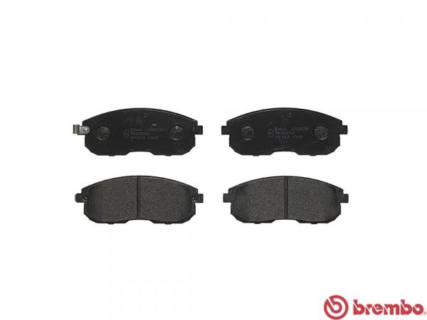 【ブレンボ】ブレーキパッド NISSAN ローレル [ HC35 SC35 ][ 97/6~02/08 ][ FRONT ] 【 ブラック 】