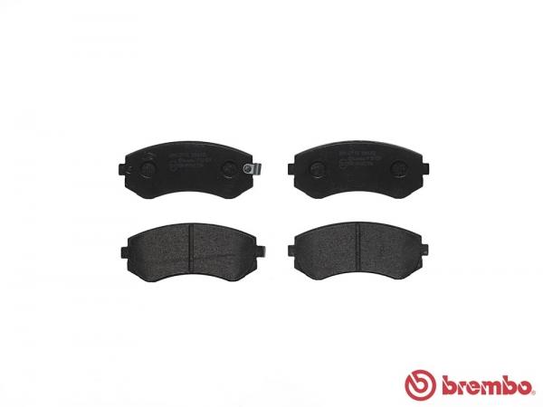 【ブレンボ】ブレーキパッド NISSAN ローレル [ SC33 ][ 88/12~93/1 ][ FRONT ] 【 ブラック   ABS無 】