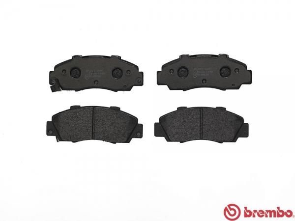 【ブレンボ】ブレーキパッド HONDA CR-V [ RD1 ][ 95/10~01/10 ][ FRONT ] 【 レッド | MT 】
