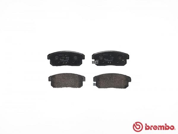 【ブレンボ】ブレーキパッド NISSAN プリメーラ ワゴン [ WQP11 ][ 00/11~01/01 ][ REAR ] 【 ブラック 】