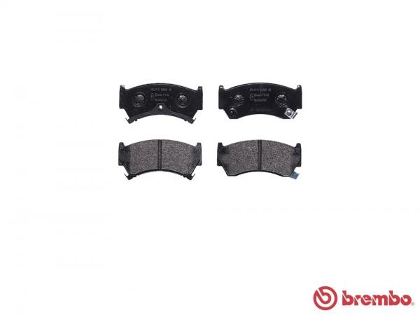 【ブレンボ】ブレーキパッド NISSAN ルキノ [ HN15 ][ 95/1~00/08 ][ FRONT ] 【 レッド | 14inch wheel (Fr.247mm DISC) 】