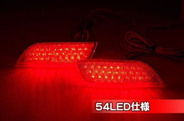 【シャイニングスピード】純正LEDリフレクター【VM】レヴォーグ (36LED仕様、電源取り出しハーネス(2個セット) )