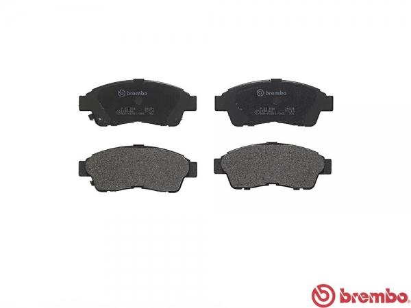 【ブレンボ】ブレーキパッド TOYOTA RAV4 [ SXA10W SXA11W ][ 94/4~00/05 ][ FRONT ] 【 レッド | Rear DISC 】