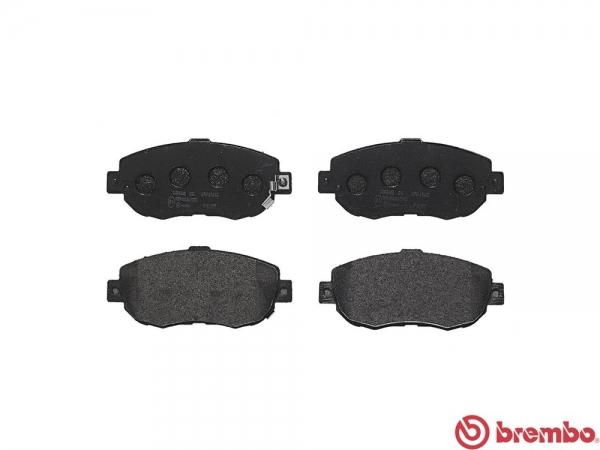 【ブレンボ】ブレーキパッド TOYOTA アルテッツァ ジータ [ GXE15W ][ 01/06~05/07 ][ FRONT ] 【 セラミック | 16&17inch wheel (Fr.296mm DISC) 】