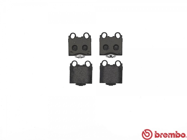 【ブレンボ】ブレーキパッド TOYOTA アルテッツァ ジータ [ GXE15W ][ 01/06~05/07 ][ REAR ] 【 レッド | 16&17inch wheel (Fr.296mm DISC) 】