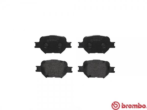 【ブレンボ】ブレーキパッド TOYOTA オーパ [ ZCT15 ][ 02/05~05/04 ][ FRONT ] 【 セラミック   i仕様・iS Package/Rear DISC 】