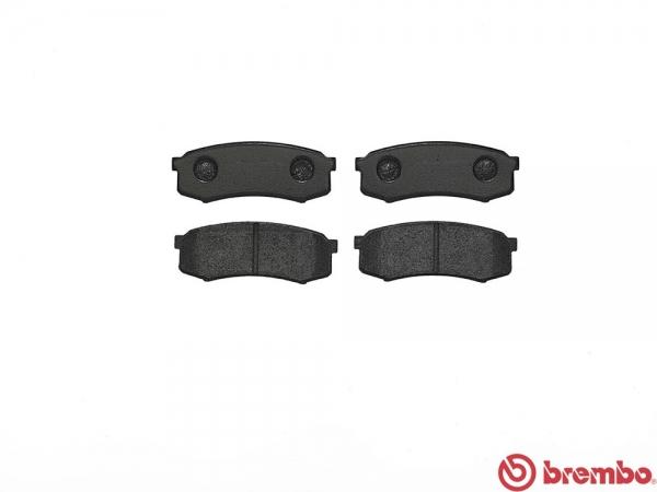 【ブレンボ】ブレーキパッド TOYOTA ランドクルーザー / シグナス [ HZJ76K ][ 99/8~04/08 ][ REAR ] 【 ブラック | Rear DISC 】