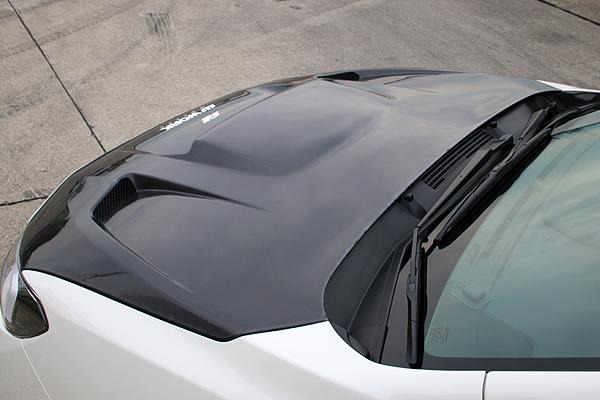 レヴォーグ | ボンネット ( フード )【チャージスピード】LEVORG STI Sport VM# C~E型 ボンネット(ダクト付) 材質:カーボン製