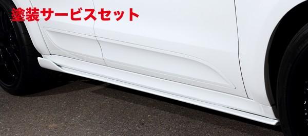 ★色番号塗装発送【★送料無料】 マカン Macan | サイドステップ【アーティシャンスピリッツ】Porsche MACAN SPORTS LINE BLACK LABAL SIDE UNDER SPOILER 2P FRP製