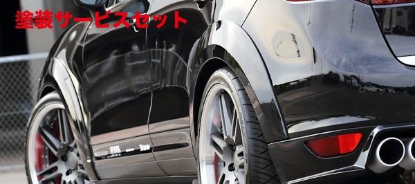★色番号塗装発送【★送料無料】 カイエン | オーバーフェンダー / トリム【アーティシャンスピリッツ】Porsche CAYENNE V6 TYPE 958 SPORTS LINE BLACK LABAL OVER FENDER KIT 6P FRP製